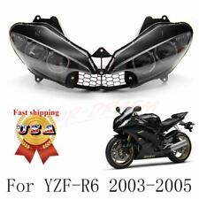 R6 R6S Front Headlight Head Lamp Assembly For Yamaha YZF R6 2003-2005 R6S 06-09