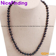 """HandmadeFreshwaterPearlStrand Necklaces Fashion Women Jewelry Mother Gift 16"""""""