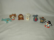 FISHER PRICE Little People ALPHABET LETTER ANIMALS figure toy lot