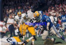 Alex Karras Detroit Lions Dan Grimm Green Bay Packers Org Photo Negative Slide
