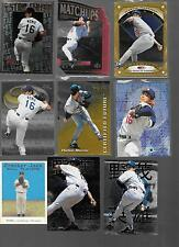 Lot of 20, All Hideo Nomo High End Inserts Certified Future Matchup Die Cut Gold