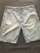 Men's Ecko UNLTD Denim Blue Jean Shorts Big & Tall Size: 48B
