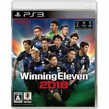 World Soccer Winning Eleven 2018 Konami SONY PS3 PLAYSTATION JAPANESE NEW