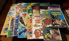 Mickey Mouse #219-256 - complete Gladstone run 1986-90