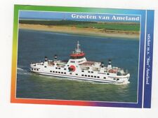 Groten Van Ameland MS Sier Netherlands Postcard 369a ^