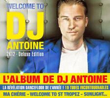 NEUF RARE Welcome to DJ Antoine 2k12 de DJ Antoine [Deluxe Edition] CD ALBUM 19T