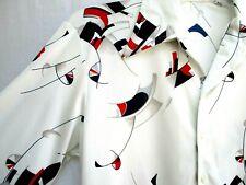 Vtg 70's.D'Avila.Di sco.Shirt.Abstract Art.sz Med Abstract Art Large