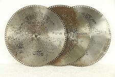 "Regina Music Box Group of 3 Antique 15 1/2"" Disks, Cake Walk & More #30776"