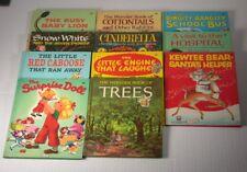 LOT - 11 Vintage 40s, 50s, & 60s Children's Wonder Books