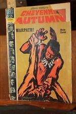 Vintage 12 Cent Comic 1965 Dell Cheyenne Autumn Warpath