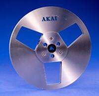 "7"" 7 Inch 4-track Akai Metal Reel for Tape Recorder R-7M  ATR-7M Takeup Reel"