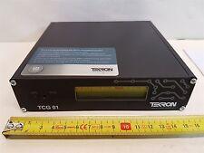 Tekron TCG01-D:09.010 Timecode Generator GPS Clock 12-36VDC New