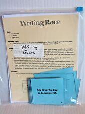Writing Race Game - Language Arts Teaching Activity Grades 2-4 New