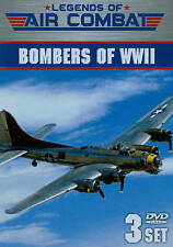 Legends of Air Combat: Bombers of WWII (DVD, 2014, 3-Disc Set)
