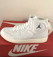 Nike Jordan Access Mens Shoes Size UK 8 EU 42.5 US 9 White Black Boots