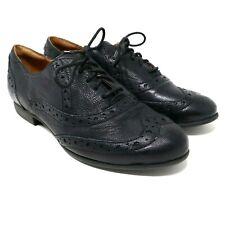 Clarks Indigo Womens Black Lace Up Oxford Shoes Size 5 M