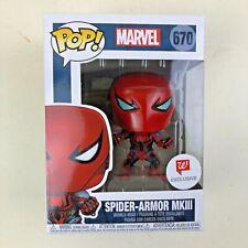 Funko Pop! MARVEL Spider Armor MK3 Spider-man Walgreens Exclusive New MKIII