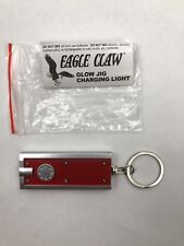 EAGLE CLAW GLOW JIG CHARGING LIGHT KEY RING FLASHLIGHT NEW IN PACK