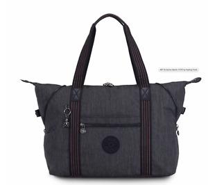 Kipling Large Travel Bag ART M Shoulder Bag ACTIVE DENIM Fall 2020 RRP £102