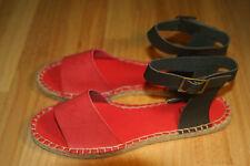 Red Farenheit Sandals Size 5.5
