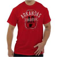 Vintage Arkansas Sports University Souvenir Short Sleeve T-Shirt Tees Tshirts