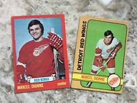 1972-73 1973-74 O-Pee-Chee - Marcel Dionne ( 2 nd and 3 rd year cards)
