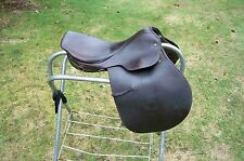 """Grand Meister Fox Meister close contact English saddle 17 1/2"""""""