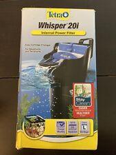 20 Gallon Tetra Whisper Internal Filter For aquariums Fish Turtle, Air Pump Tank