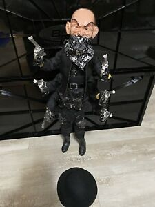 Puppet Master  Six Shooter (Black Outfit) 1:1 Replica Statue