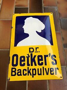 Dr Oetker Backpulver Nr.2 Top Zustand