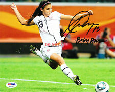 ALEX MORGAN Signed 8x10 Photo USA Soccer USWNT w RARE INSCRIPTION! Autographed r