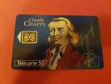 Carte téléphonique - Claude CHAPPE   (A8073)
