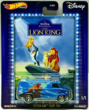 Hot Wheels de Disney The Lion King a Medida GMC Panel Van con / Rrs