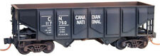 Micro-Trains MTL N-Scale 33ft Hopper Canadian National/CN Weathered #117750