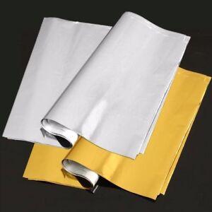 50 Sheets A4 Gold/Sliver Transfer Foil Paper Laser Printer Machine Hot Laminator