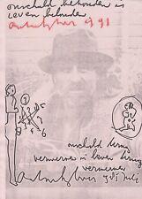 ANTON HEYBOER --- original signiert - 6#23a