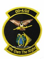 USAF Air Force Black Ops OD-4/DX NRO Onyx Satellite We Own The Night Patch New