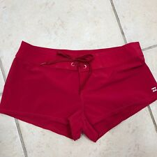 "Jr BillaBong Sz 5 Swim Shorts Bottoms Tie Front Inseam 2"" Waist 16"" Unlined"
