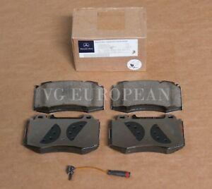 Mercedes W211 E-Class Genuine Front Brake Pad Set,Pads w/Sensor E350 E500 E550