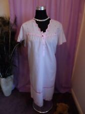 MARKS & SPENCER BEAUTIFUL PINK BUTTON FRONT VGC UK SZ 8-10 USED