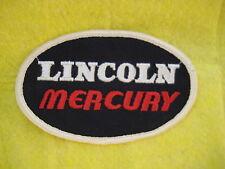 """Vintage Lincoln Mercury Uniform Dealer Patch 4 3/4 """"X 3 """""""