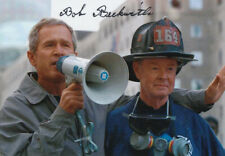 More details for bob beckwith 9/11 firefighter nyfd george w. bush signed 6x4 inch photo