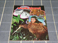 Vintage Walkabout Magazine May . 1973  in VGC  New Zealand   Old Ads