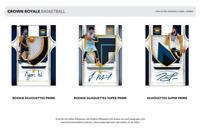 2019-20 PANINI CROWN ROYALE BASKETBALL HOBBY RANDOM PLAYER 1 BOX BREAK #4