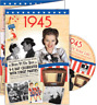 24015 1945 DVD CARD DVDCARD BIRTHDAY GREETING VISUAL HISTORY OF A SPECIAL YEAR