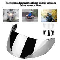 PC Motorbike Wind Shield Helmet Lens Visor Shield Full Face Fit For AGV K1 K3SV