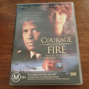 Courage Under Fire DVD R4 VERY GOOD - FREE POST