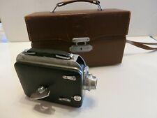 Cine Kodak Magazine 8 Camera with Original Case Vintage Movie Camera NICE!