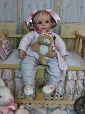 Rare Vintage? Geli Vinyl & Cloth Baby Doll Signed