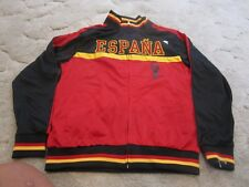 SPAIN Track Jacket FIFA WORLD CUP BRAZIL 2014 ESPAÑA Red/Gold size M
